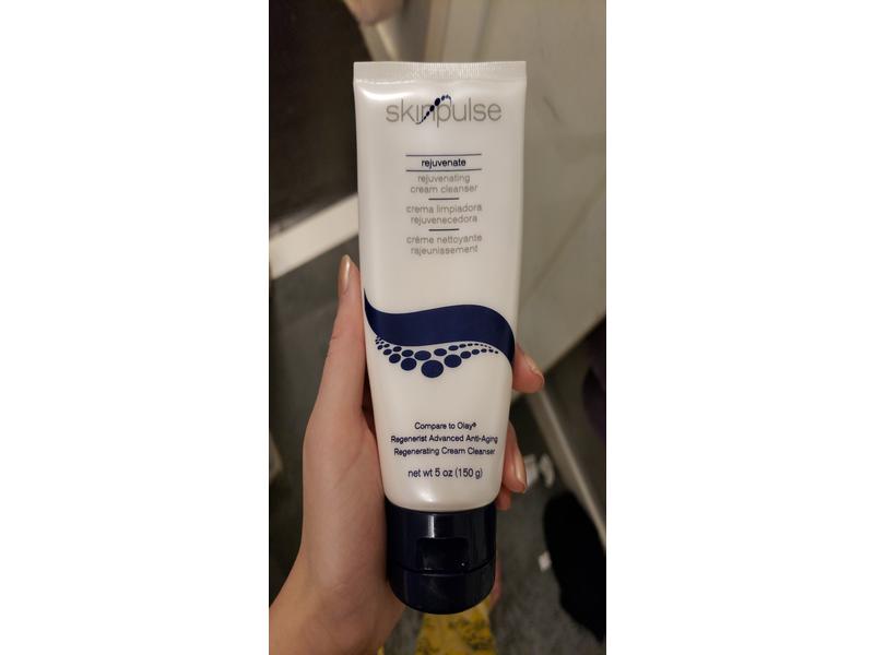 SkinPulse Rejuvenate Cream Cleanser, 5 oz