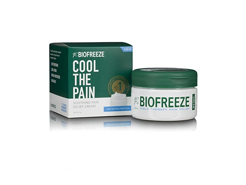 Biofreeze Cream Cool The Pain Cream, 3 oz