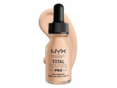 Nyx Professional Makeup Total Control Pro Drop Foundation, Light Ivory, 0.43 fl oz