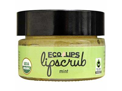 Ecolips Organic Lip Scrub, Mint, 0.5 oz