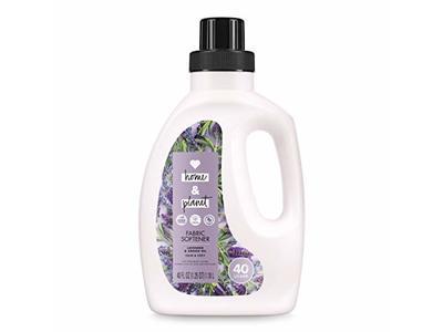 Love Home and Planet Fabric Softener, Lavender & Argan Oil, 40 fl oz
