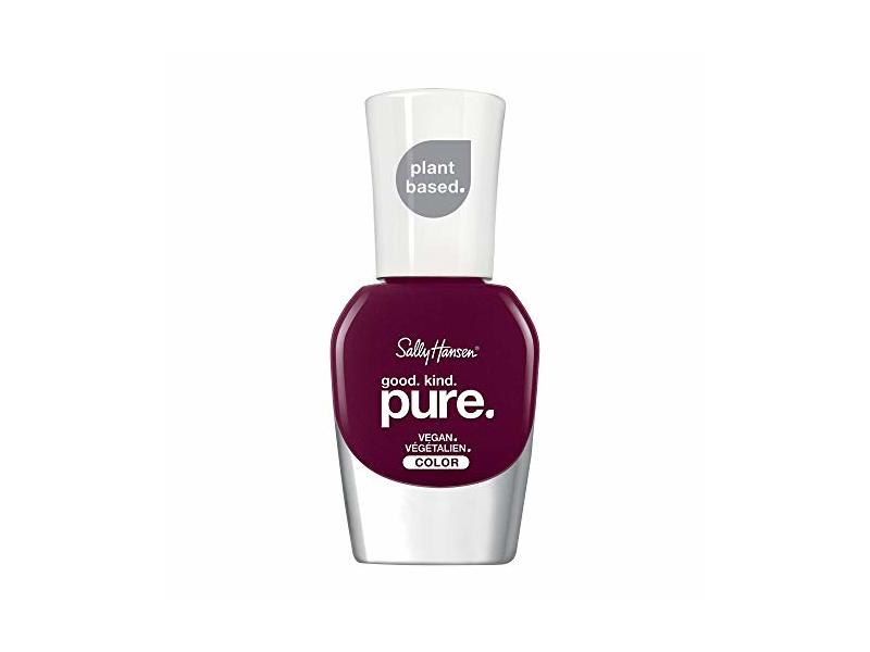 Sally Hansen Good. Kind. Pure Vegan Nail Polish, Beet It, 0.33 Fl Oz