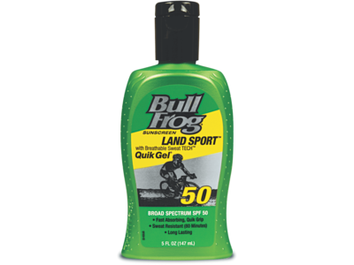 Bull Frog Water Armor Sport Quik Gel Sunscreen, SPF 50, 5 fl oz