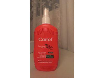 Carrot Sun Papaya Tan Accelerator Spray Oil with Papaya Oil & L-Tyrosine, 200ml - Image 3