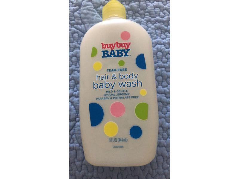 BuyBuy Baby Tear-Free Hair & Body Baby Wash, 15 fl oz