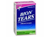 Bion Tears Lubricant Eye Drops Single Use Vials, 28 ct - Image 2