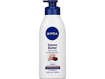Nivea Cocoa Butter Body Lotion, 16.9 fl oz