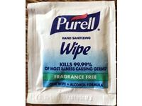 Purell Hand Sanitizing Wipe, Fragrance Free, 1 Wipe - Image 3