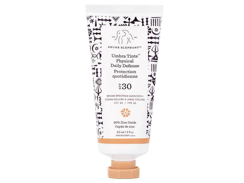 Drunk Elephant Umbra Tinte Physical Daily Defense SPF 30 Sunscreen, 2 fl oz
