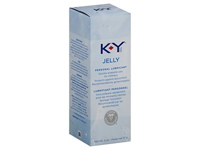 K-Y Jelly Personal Water Based Lubricant, 2 Ounce