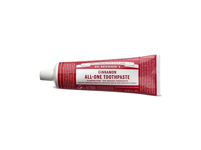Dr. Bronner's Cinnamon All-One Toothpaste, 5 Ounce