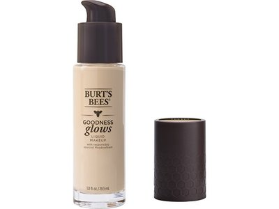 Burt's Bees Goodness Glows Liquid Foundation, Ivory, 1.0 Ounce
