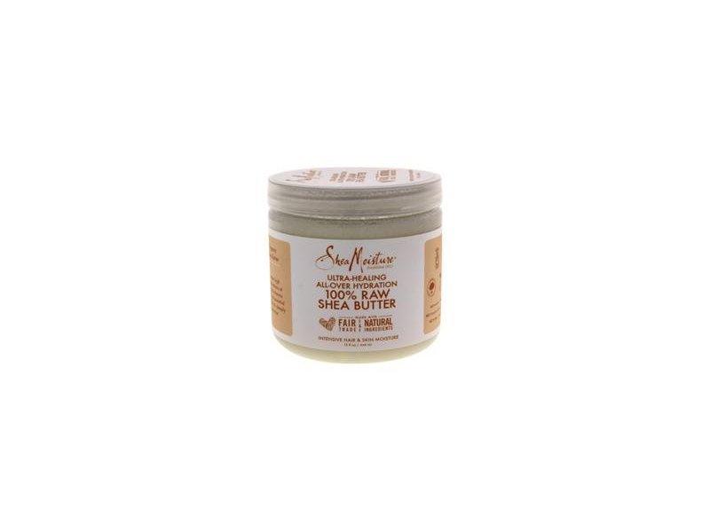 Shea Moisture Ultra-Healing All-Over Hydration, 100% Raw Shea Butter, 15 fl oz/444 mL