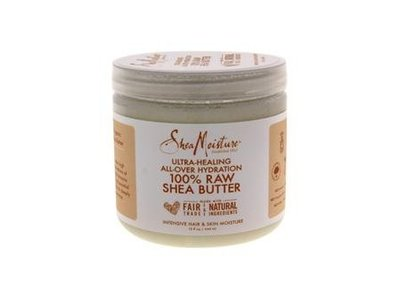 Shea Moisture Ultra-healing all-over Hydration 100% Raw Shea Butter 15 oz Unisex