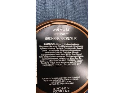 Wet N Wild Color Icon Bronzer, Reserve Your Cabana Spf 15, .46 oz - Image 4