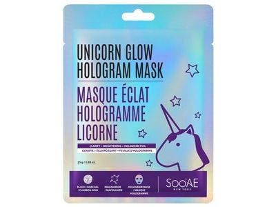 SooAE Unicorn Glow Clarify & Brightening Hologram Mask