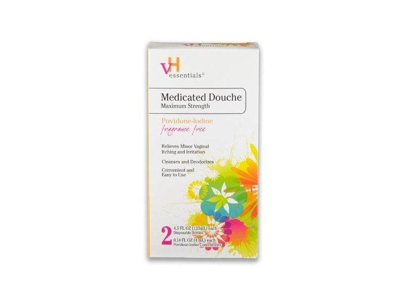 VH Essentials Medicated Douche Maximum Strength