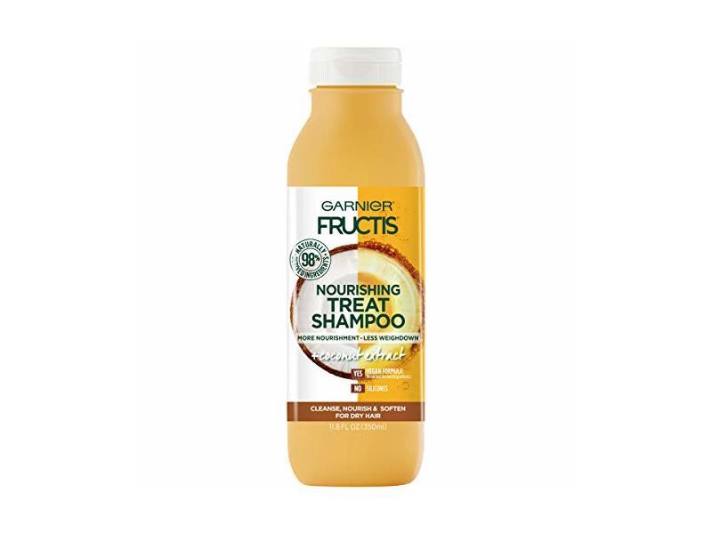 Garnier Fructis Nourishing Treat Shampoo, 11.8 fl. oz.