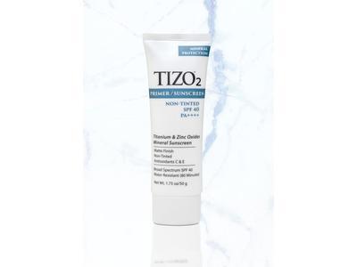 Tizo2 Facial Non-Tinted SPF40 Primer Sunscreen, 1.75 oz/50 g.