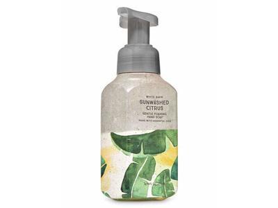 Bath & Body Works Sun-Washed Gentle Foaming Hand Soap, Gray Green Leaves, 8.75 fl oz