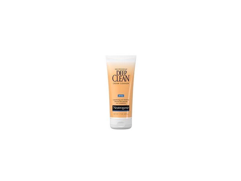 Neutrogena Deep Clean Oil-Free Daily Facial Cream Cleanser