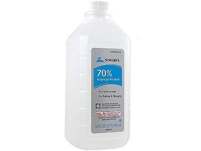 Swan Isoprophyl Alcohol 70%, 16 oz