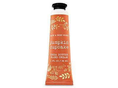 Bath & Body Works Pumpkin Cupcake Shea Butter Hand Cream, 1 fl oz - Image 1