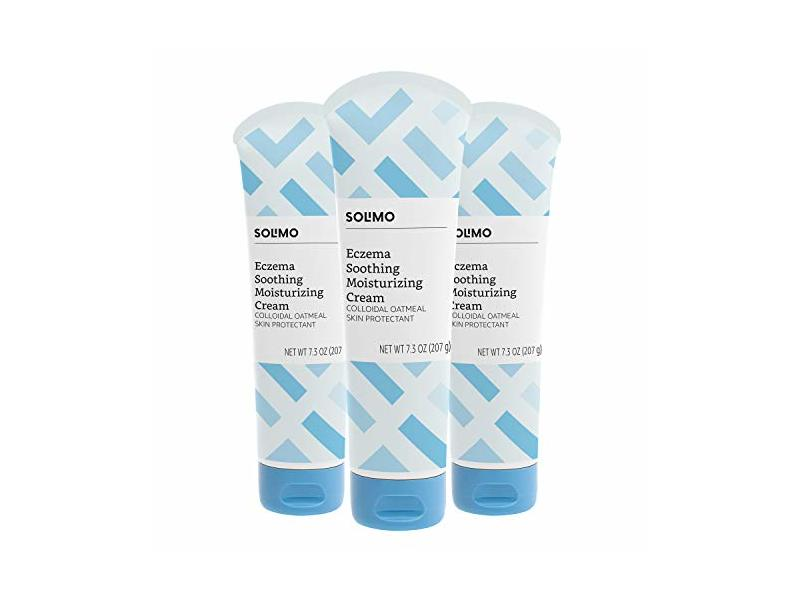Solimo Eczema Soothing Moisturizing Cream, 7.3 Ounce (Pack of 3)