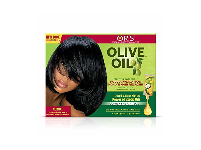 ORS Olive Oil No Lye Hair Relaxer Kit, Normal, 1 ct