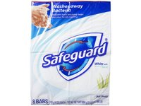 Safeguard Antibacterial Soap, White with Aloe, 4 oz x 8 count - Image 2