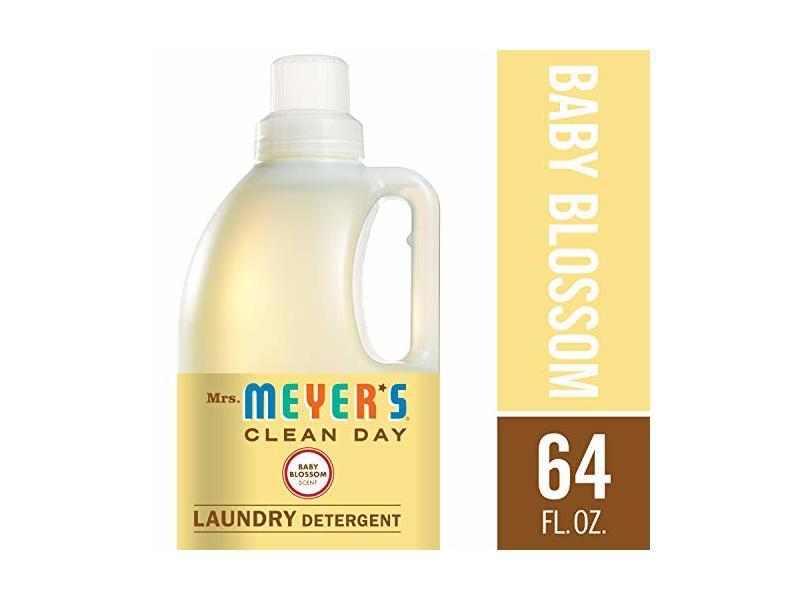 Mrs Meyer S Laundry Detergent Baby Blossom 64 Fl Oz