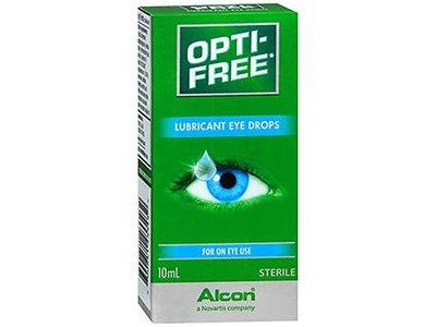 Opti-Free Lubricant Sterile Eye Drops, 10 mL