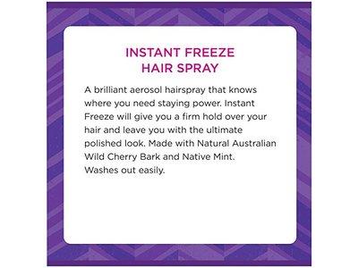 Aussie Instant Freeze Aerosol Hairspray, 10 oz - Image 4