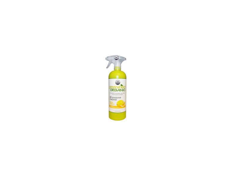 Green Shield All-Purpose Cleaner, Fresh Lemon Scent, 32 fl oz