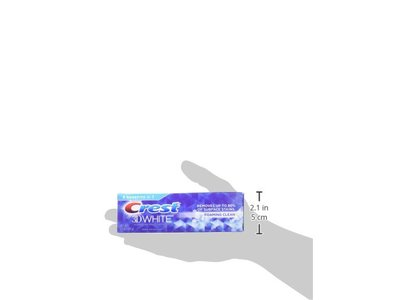 Crest 3D White Foaming Clean Whitening Toothpaste, 3.5 oz - Image 3