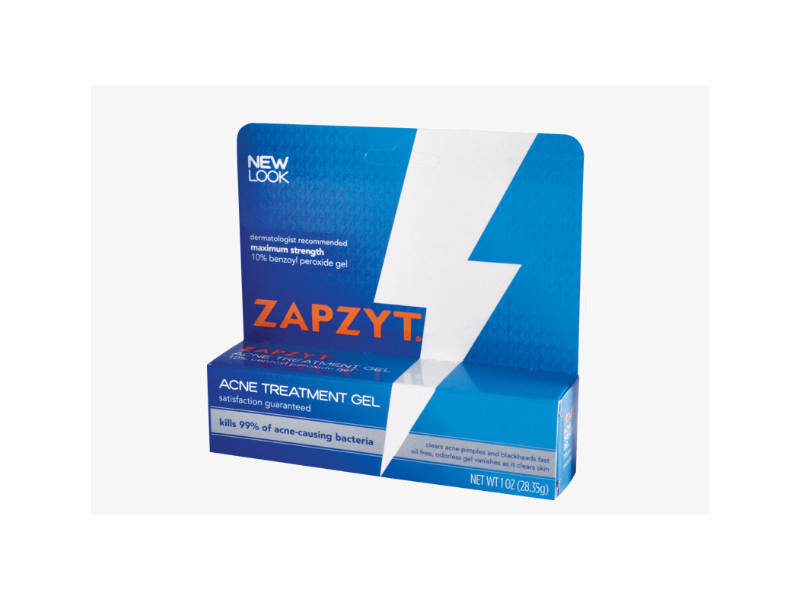 Zapzyt Acne Treatment Gel, 1 oz (28.35 g)