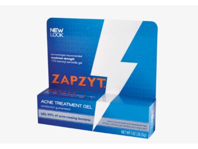 Zapzyt Acne Treatment Gel, 1 oz (28.35 g) - Image 1