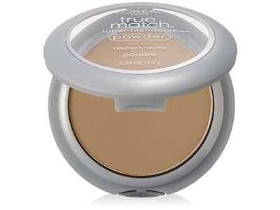 L'Oreal Paris True Match Powder, W1 Porcelain, 0.33 oz
