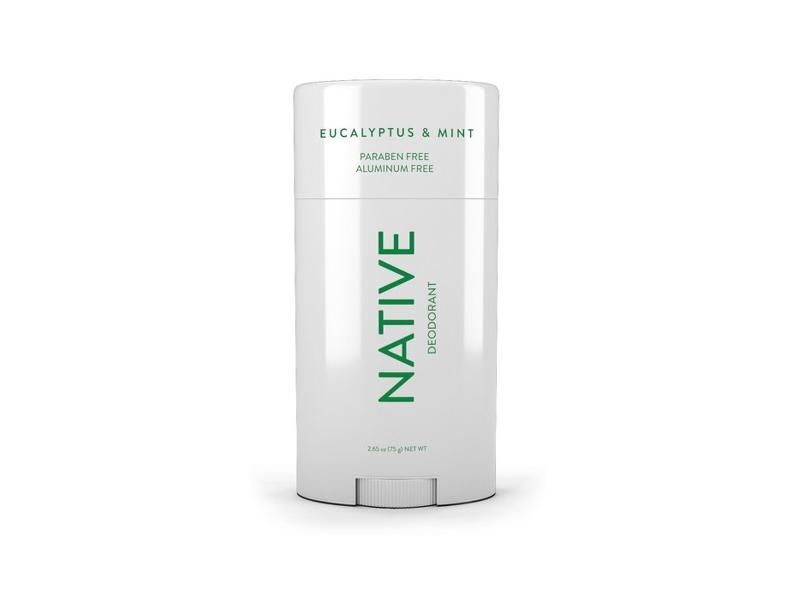 Native Deodorant, Eucalyptus & Mint, 2.65 oz.