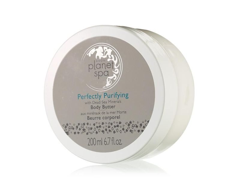 Avon Planet Spa Perfectly Purifying Body Butter with Dead Sea Minerals, 6.7 fl oz