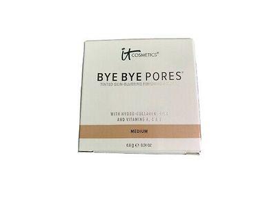 It Cosmetics Bye Bye Pores Tinted Skin-Blurring Finishing Powder, Medium, 0.24 oz/6.8 g