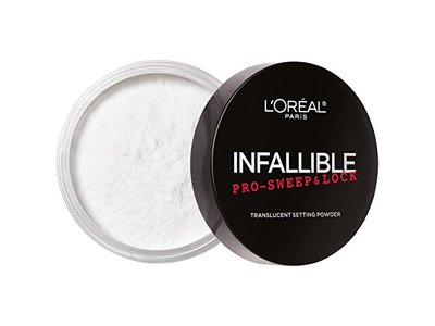 L'Oreal Paris Cosmetics Infallible Pro Sweep & Lock Loose Setting Powder, Translucent, 0.28 Ounce - Image 3