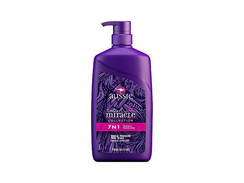 Aussie Total Miracle Collection 7N1 Shampoo, 26.2 Fluid Ounce