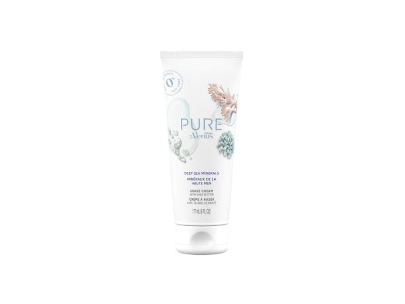 Gillette Venus Pure Shave Cream, 6 fl oz/177 mL