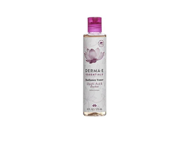 Derma-E Essentials Radiance Toner, Glycolic Acid & Rooibos Lotion Tonique, 6 fl oz/175 mL