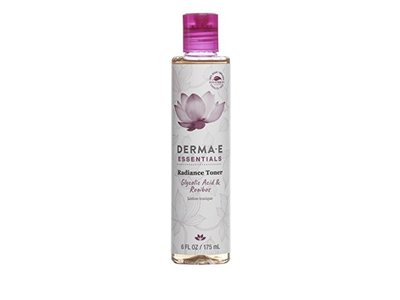 Derma-E Essentials Radiance Toner with Glycolic Acid & Rooibos Lotion Tonique, 6 fl oz
