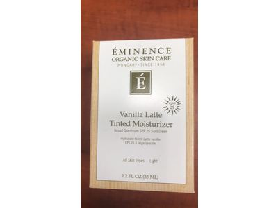 Eminence Organic Light Vanilla Latte Tinted Moisturizer SPF 25, 1.2 Ounce - Image 3