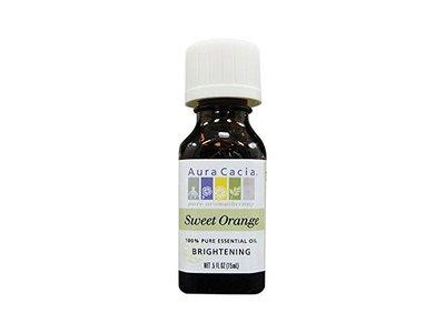 Aura Cacia Essential Oil, Sweet Orange, 0.5 fl oz