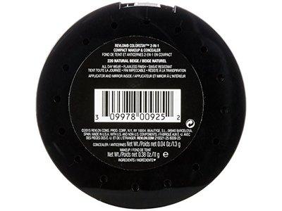 Revlon ColorStay 2-in-1 Compact Makeup & Concealer, Natural Beige - Image 3