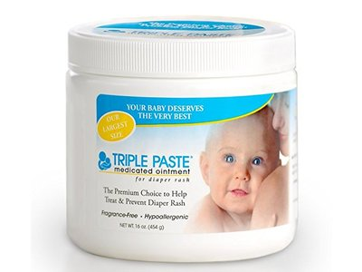 Triple Paste Medicated Ointment for Diaper Rash, 16 Ounce